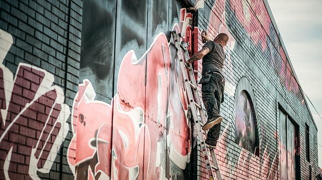 Créativité graffiti WEEPREP