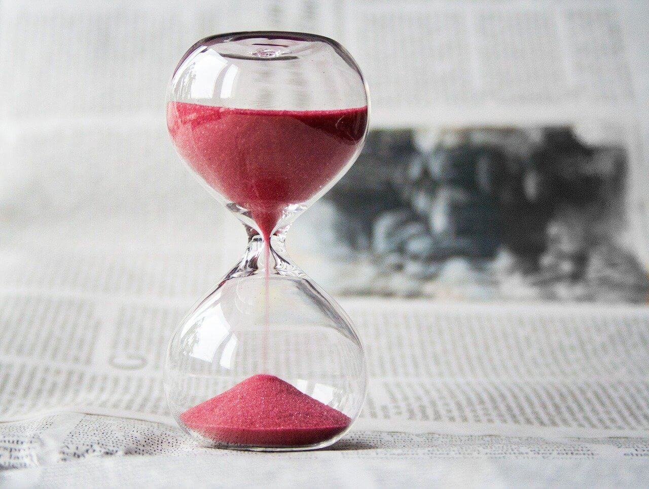 sablier temps weeprep